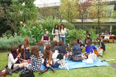 10月に開催したお弁当の日:むすぼう「オムスビ」友達の輪