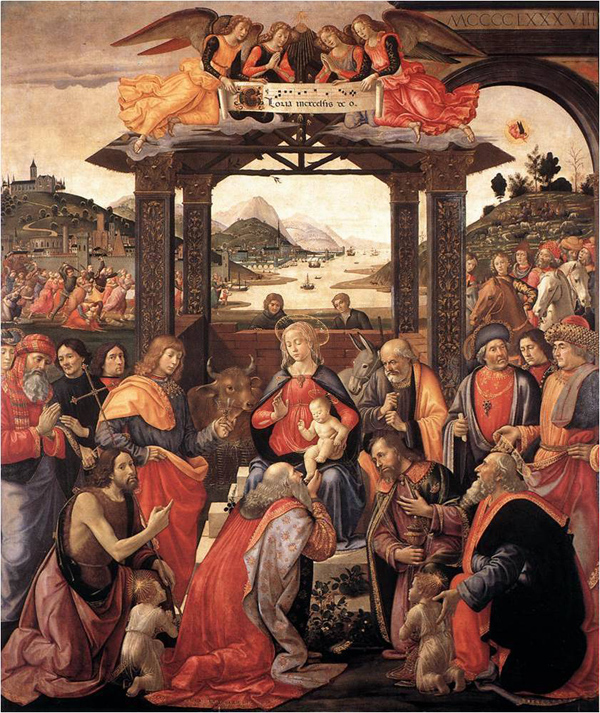 ギルランダーイオの絵