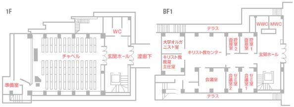 会議室のマップ